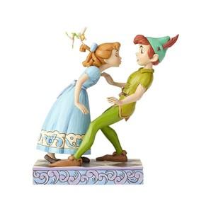◇先行予約◇【Disney Traditions】ピーターパン&ウェンディ キス