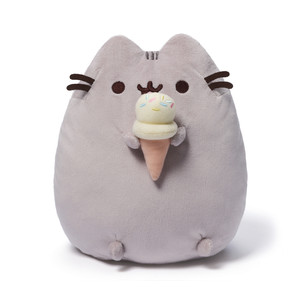 【GUND】プシーン キャット ウィズアイスクリーム