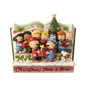 ◇先行予約◇【JIM SHORE】 Peanuts −Christmas Storybook− <クリスマス>