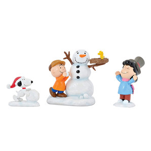 ◇先行予約◇【Department56】Peanuts -Snowday Snowman Set - <クリスマス>