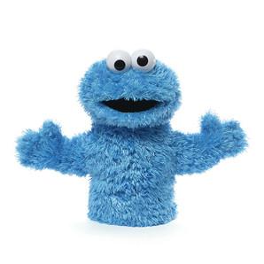 【GUND】セサミストリート パペット -Cookie Monster-