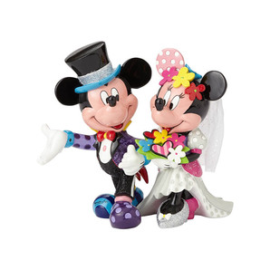 【Disney by Britto】−Mickey & Minnie Wedding−