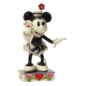 【Disney Traditions】ミニー ブラック&ホワイト